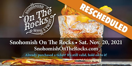 Snohomish On The Rocks Rescheduled to Fall 2021 Tickets