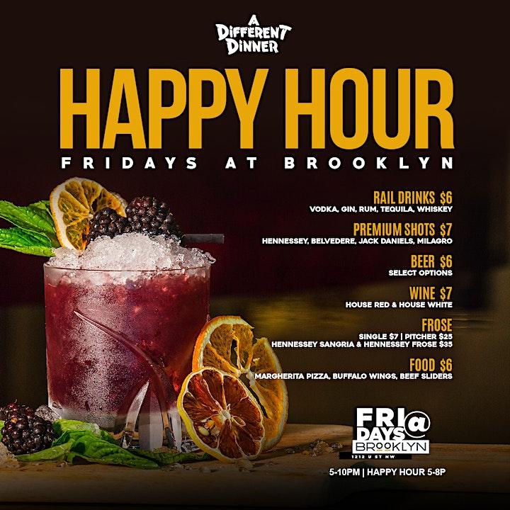 Fridays at Brooklyn  | Each & Every Friday image