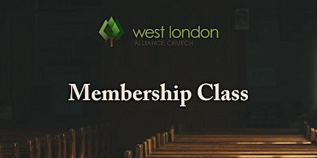 Membership Class tickets