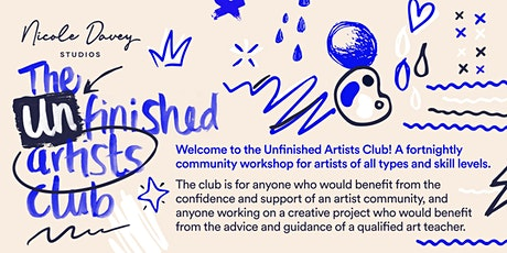 The Unfinished Artists Club tickets