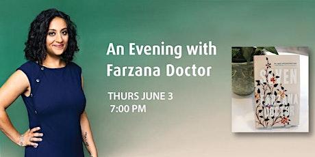 An Evening with Farzana Doctor tickets
