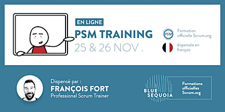 Formation Scrum.org Professional Scrum Master (PSM I) en français billets