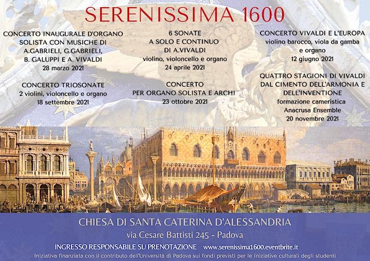 Immagine Serenissima 1600 - concerto Vivaldi e l'Europa