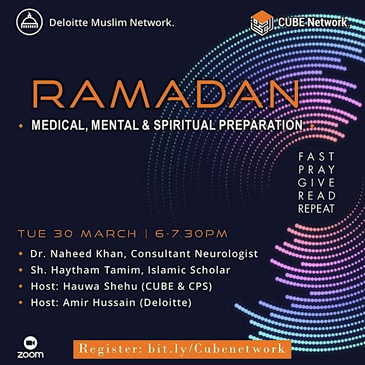 Ramadan: Medical, Mental & Spiritual Preparation image