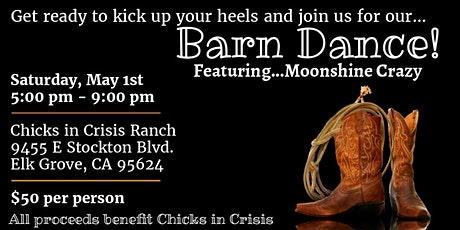 Barn Dance - Fundraiser for Chicks in Crisis tickets