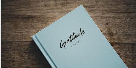 Gratitude Journaling tickets