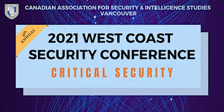 2021 CASIS West Coast Security Conference: Critical Security ingressos