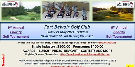 9th  Annual  America's Adopt A Soldier Golf Tournament tickets