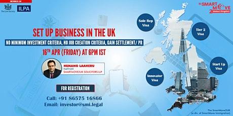 FREE Webinar : Start a business in UK with NO investment - DON'T MISS IT. tickets