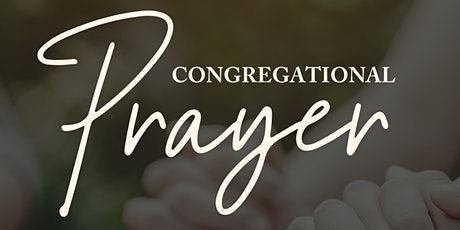 Congregational Prayer tickets