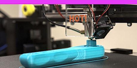 101 | IMPRESSION 3D : Introduction à l'Atelier + Initiation à l'usage tickets