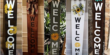 Welcome Porch Sign Class tickets