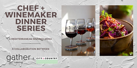 Chef & Winemaker Dinner Series: A Mediterranean Inspired Menu tickets