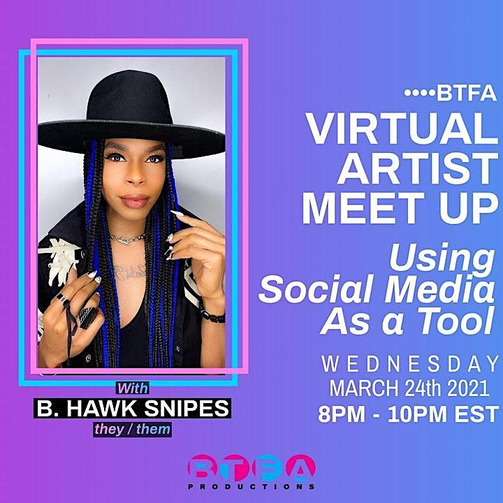 BTFA's Artist Meetup: Using Social Media As a Tool image