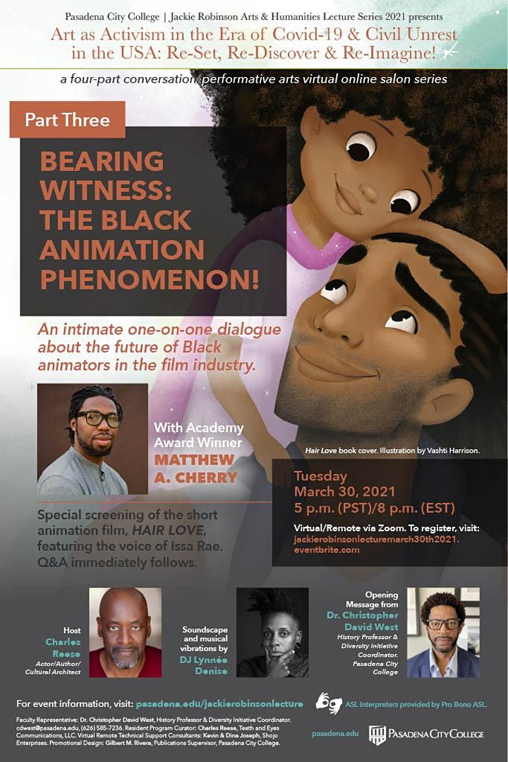 Jackie Robinson Arts & Humanities Lecture Series - Part 3 image