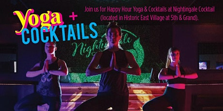 Yoga & Cocktails tickets