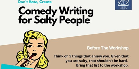 Salty People Writing Workshop tickets