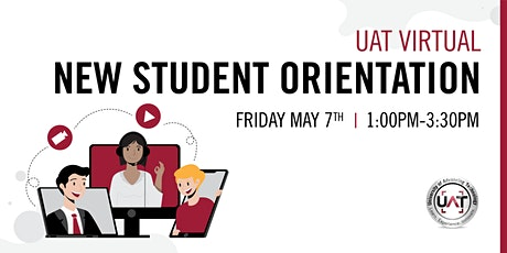 UAT Virtual New Student Orientation: Summer 2021 tickets