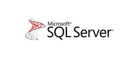 4 Weekends Only SQL Server Training Course in Monterrey entradas
