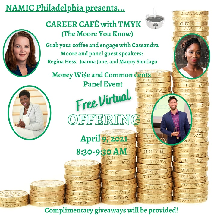 Career Café: Money Wi$e and Common ¢ents Panel Event image