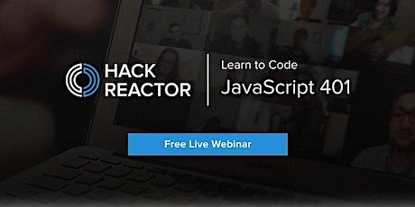 JavaScript 401 [Live-Online] tickets
