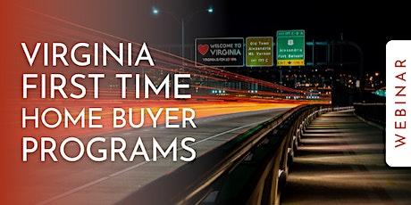 Virginia First Time Home Buyer [Webinar] tickets