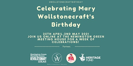 Mary Wollstonecraft's birthday – a week of celebration tickets