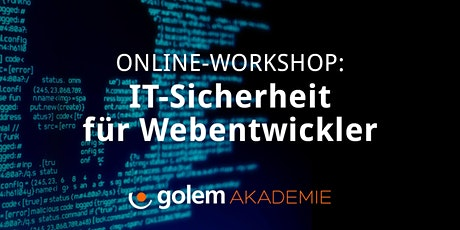 Online-Workshop: IT-Sicherheit für Webentwickler Tickets