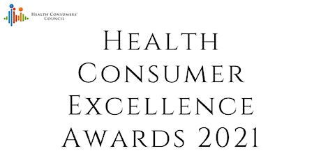 2021 Health Consumer Excellence Awards tickets