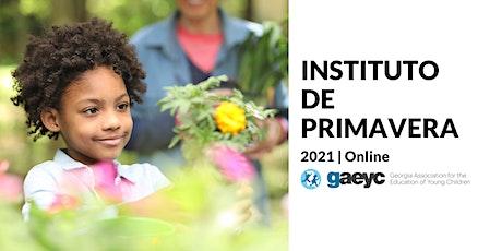 GAEYC Instituto de Primavera 2021 entradas