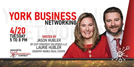 Free York Business Networking Event (April, PA) tickets