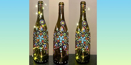 Light Up Wine Bottle Painting tickets