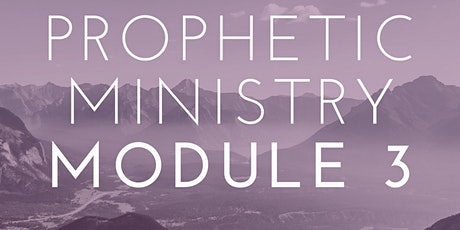 Online Prophetic Ministry Module THREE Course tickets