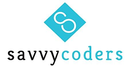 DEMO DAY: A Virtual Savvy Coders Alumni Showcase Event tickets