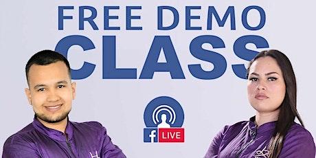 Hydra Free Demo Class MTY boletos
