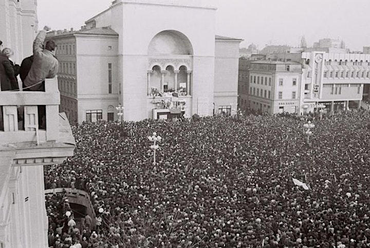 Witness to history: Zsolt Szilagyi, the overthrow of the Communist regime image