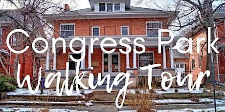 Congress Park Walking Tour tickets