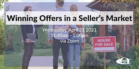 Winning Offers in a Seller's Market tickets