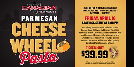 Cheese Wheel Pasta Night (Calgary - Harvest Hills) tickets