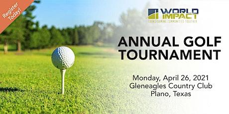 2021 World Impact Charity Golf Tournament tickets