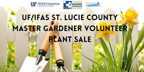 St. Lucie County Master Gardener Volunteer Plant Sale tickets