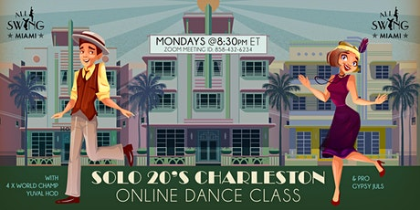 Solo 20s Charleston Dance Class on Zoom tickets