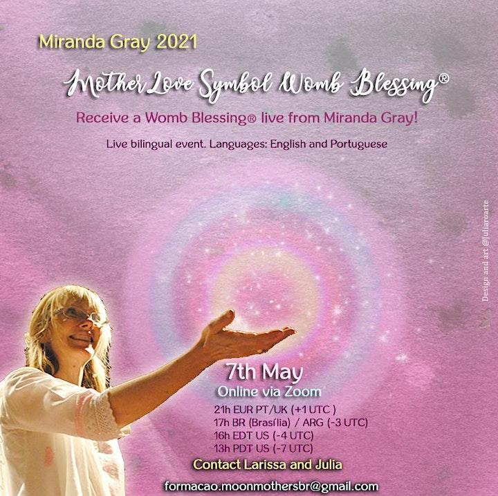 Imagem do evento MotherLove Symbol Womb Blessing ® sent by Miranda Gray