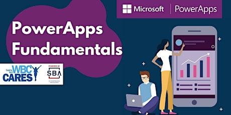 MS PowerApps Fundamentals tickets