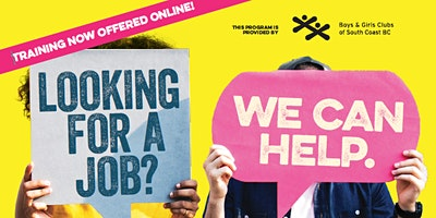 EMPLOYMENT NOW – A free 2-week online job training program (May B)
