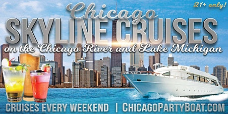 Chicago Skyline Cruises on the Chicago River and Lake Michigan (21+ Only) tickets