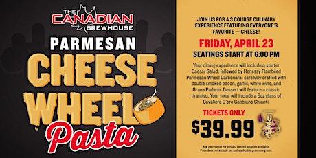 Cheese Wheel Pasta Night (St. Albert - Jensen Lakes) tickets
