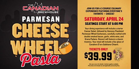 Cheese Wheel Pasta Night (Calgary - Mahogany) tickets