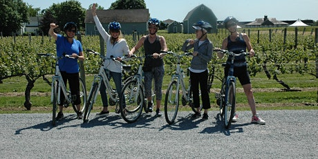 Private Guided Wine Country Bike Tour for up to 6-9 Persons, Long Island NY tickets