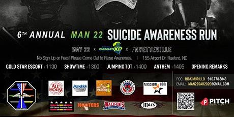 MAN 22 Suicide Awareness Run tickets